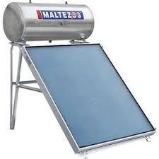 MALTEZOS GLASS 160lt / SAC 130x150 Τριπλής Ενέργειας