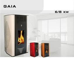 Θερμάστρες Αέρα Pellet Gaia 6 kW