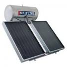MALTEZOS INOX 300lt / 2 NCS 130x150 Τριπλής Ενέργειας